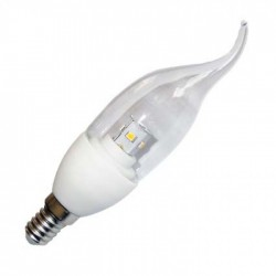 Led E14 4W flamme dimmable